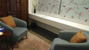 About Counselling. Trestle counselling room